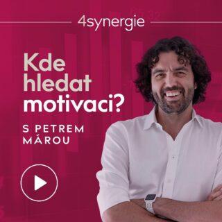 Kde hledat motivaci? 🖐🏻 Na tuto otázku každý z nás občas hledá odpověď. Do dnešního dílu podcastu 4synergie jsme si vzali exkluzivního hosta @petrmara, který promluvil právě na téma MOTIVACE. . Poslechtěte si další díl našeho Podcastu na SPOTIFY. Link v bio. #4synergie #4fin #betterTogether #motivace #inspirace